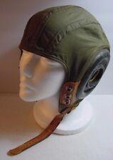 WWII-USAAF-Cloth Flight Helmet-Original