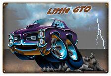 Cool Purple Little GTO By Artist Bernard Oliver 12x18