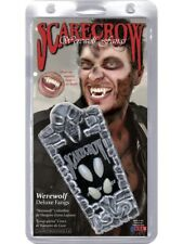 Deluxe Werewolf Fangs Adult Unisex Smiffys Fancy Dress Costume Accessory
