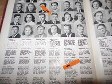 PIERRE SALINGER/ORIGINAL 1941 (SPRING) LOWELL HIGH YEARBOOK/SAN FRANCISCO, CALIF