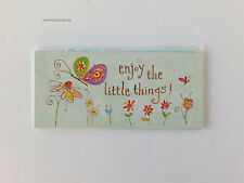 Lori Siebert Wall Plaque ~ Enjoy the Little Things! ~ Studio 18 ~ Nrfp