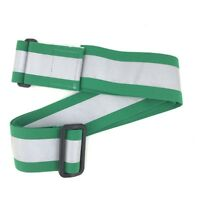 High Visibility Reflective Elastic Green PT Belt, Physical Training Running Belt