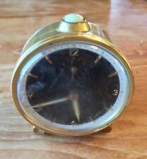 Vintage Mauthe Brass Famos Luxury Alarm Clock - Works - Made in Germany