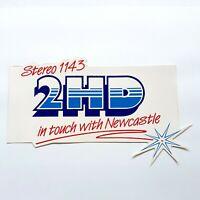 Vintage 2HD Newcastle Radio Station Sticker - 2HD Stereo 1143 Sticker NOS