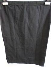 Stretch, Bodycon Knee Length Cotton Blend No Pattern Women's Skirts