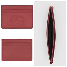 f59be728b20c Burberry Embossed Crest Smooth Leather Card Holder case
