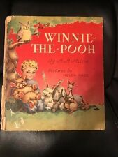 Vintage Winnie the Pooh Hard Cover Storybook - 1946 FAIR condition