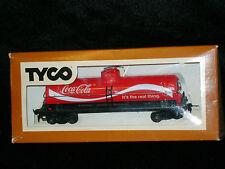 TYCO *Coca-Cola ** COKE ** SINGLE Dome 40' ** TANK ** Car HO Scale Train *mint*