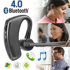 Bluetooth 4.0 Wireless Stereo Handsfree Earphone Headset For iPhone Samsung HTC