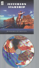 CD--JEFFERSON STARSHIP WINDOWS OF HEAVEN //PROMO CARDSLEEVE