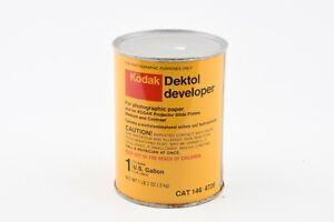 NEW VINTAGE KODAK DEKTOL PAPER DEVELOPER TO MAKE 1 GAL CAN #146 4726