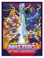 Masters of the Universe Screen Print Timothy Anderson He Man MOTU Signed 18x24