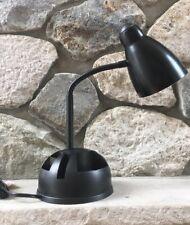 Vintage Flexible Goose Neck Desk Lamp w Rotating Storage Compartments