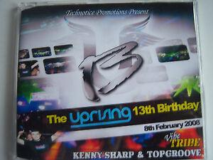 UPRISING- 8.2.08 - 13TH BIRTHDAY - KENNY SHARP & TOPGROOVE - VIBE TRIBE CD