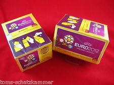 Panini Euro 2012 2x Box = 200 Bags = 1000 stickers em 12 Poland Ukraine Display