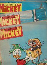 Le Journal de Mickey lot des n°104 à 125 - 1954. bel état