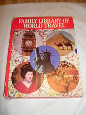 Awesome 1985 set of 5 books - Family Library of World Travel
