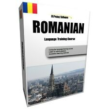 P2 LEARN TO SPEAK ROMANIAN LANGUAGE TRAINING COURSE PC DVD NEW