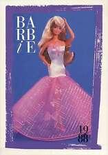 "Barbie Collectible Fashion Card "" Perfume Pretty Barbie Scented Fashions "" 1988"