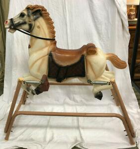 Vintage 1970's Clip Clop Wonder Horse