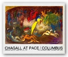 ART Enlevement de Chloe Abduction of Chloe Marc Chagall