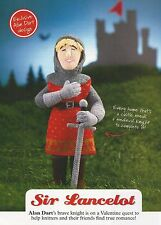 ALAN DART Toy KNITTING PATTERN - SIR LANCELOT MEDIEVAL KNIGHT - Magazine Extract