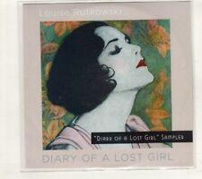 (HT988) Louise Rutkowski, Diary Of A Lost Girl sampler - 2015 DJ CD