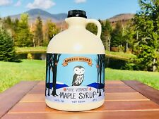 1/2 Gallon 100% Pure Vermont Maple Syrup - Grade A Amber From Barred Woods Maple
