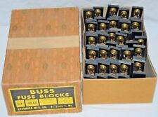 (50) Vintage Buss 4515 Fuse Blocks 1-POLE, 30A, 250VAC