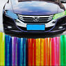 13 Color Car Headlight Taillight Fog Lamp Tint Film Vinyl Wrap Sticker Removable