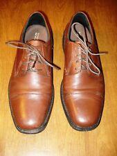 Men's Size 9.5 M Bostonian Flexlite Brown Leather Dress Oxfords Shoes
