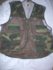 *NORTHWEST TERRITORY* Camouflage Hunting VEST 20 Shell Loops Game Pouch Mesh XL