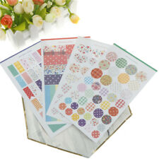 4Pcs Dot Canvas Stickers For DIY Scrapbooking Planner Cardmaking Journaling  Z
