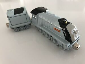 Thomas & Friends Take Along N Play DieCast Metal Spencer Train & Tender GUC 2004