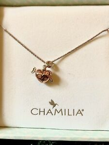 Chamilia Secret Message Heart Necklace
