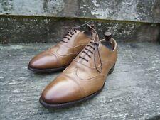 Zapatos Para Hombre Oxford Iglesia – café/bronceado-UK 8 – Excelentes Condiciones