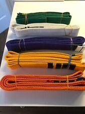 "Martial Arts 1-1/2"" Wide 90"" Long Karate Taekwondo Color Belt"
