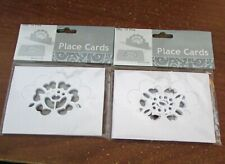 New 2 Packs of Place Cards 12 in Each Pack