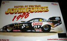 ACTION #76 NHRA JOHN FORCE DRIVER OF YEAR CASTROL 1996 MUSTANG FUNNY CAR 1/24