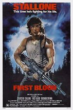 RAMBO FIRST BLOOD Movie Poster [Various Sizes]