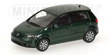 Volkswagen Golf Plus 2004 Green Metallic 1:43 Model MINICHAMPS