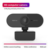 USB Full HD1080P PC Webcam Camera Digital Web Cam w/ Mic Auto Focus For Laptop g