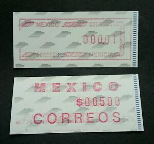 [SJ] Mexico ATM (Frama Label stamp pair) MNH