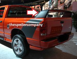 FOR 2002-2008 DODGE RAM Daytona Style Rear Spoiler Grey Primer Unpainted