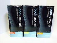 Matrix Opti Smooth Smoothing System Pro Keratin - Full Kit, You Choose Type