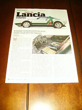 1973 1974 1975 Lancia Stratos *Original 2015 Article*