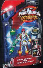 Power Rangers Operation Overdrive Mega Torque Force Red Ranger New