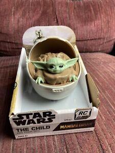 NEW Disney Star Wars: The Mandalorian The Child Baby Yoda Grogu & Pram 27 Mhz RC