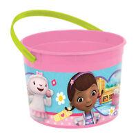 Disney Doc McStuffins Birthday Party Plastic Loot Treat Favor Bucket Container