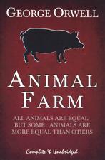Animal Farm by George Orwell - COMPLETE & UNABRIDGED  BRAND NEW   TS